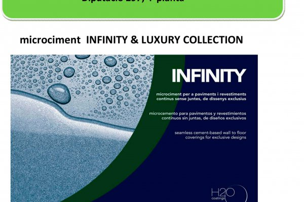 Presentació microciment infinity & luxury collection